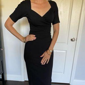 Beautiful black cocktail dress